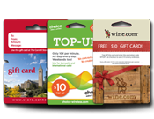 Gift Card Holders